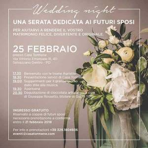 Wedding Night A Casa Tormene